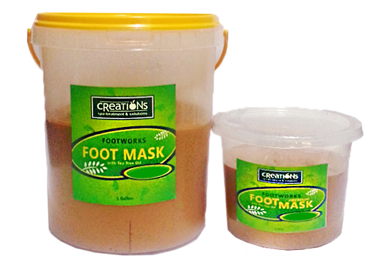 Foot Mask Peppermint